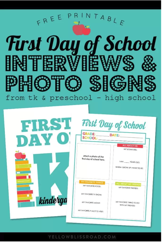 https://www.yellowblissroad.com/first-day-school-photo-signs-interviews/