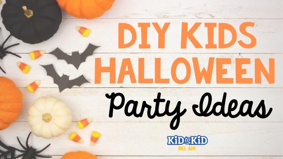 DIY Kids Halloween Party Ideas
