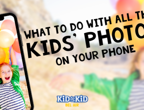Ideas of What to Do with All Your Kid's Pictures on Your Phone