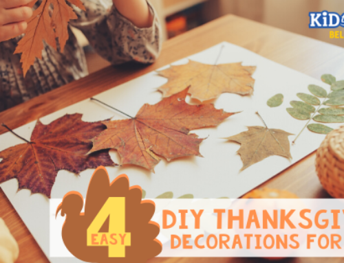 4 Easy DIY Thanksgiving Decorations for Kids