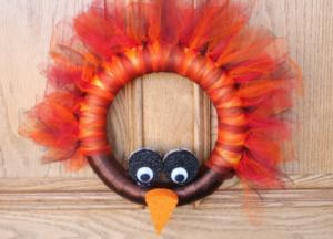 DIY Turkey Wreath