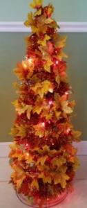 DIY Leaf Tree