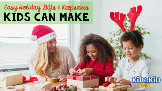 Holiday Gifts & Keepsakes Kids CanMake