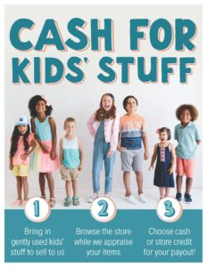 CASH for Kids' Stuff